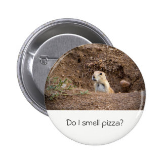 Prairie Dog Pizza Meme Button