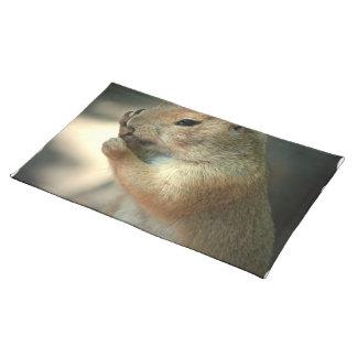 Prairie Dog Placemat Cloth Placemat