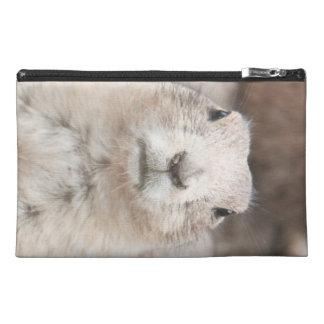 Prairie dog portrait travel accessory bag