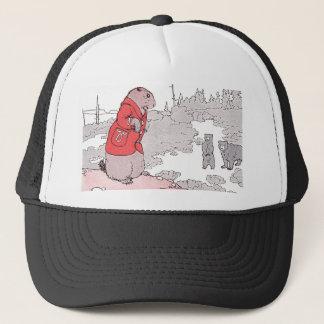 Prairie Dog Says Goodbye to Bears Trucker Hat