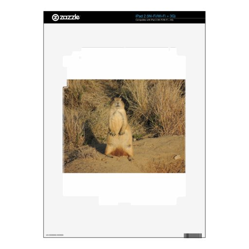 Prairie Dog Decal For The iPad 2