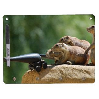 Prairie Dog Soldiers Dry Erase Board