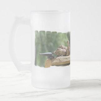 Prairie Dog Soldiers Frosted Beer Mug
