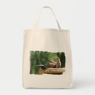 Prairie Dog Soldiers Grocery Tote Grocery Tote Bag