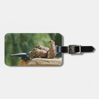 Prairie Dog Soldiers Luggage Tag