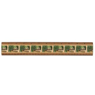 Prairie Dog Soldiers Wood Ruler