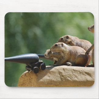 Prairie Dog Soldiers Mouse Pad