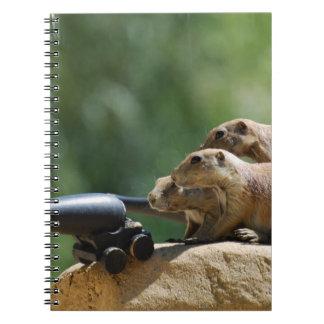 Prairie Dog Soldiers Notebook