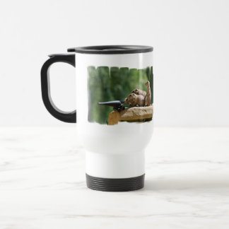 Prairie Dog Soldiers Plastic Travel Mug