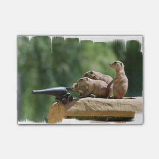 Prairie Dog Soldiers Post-it® Notes