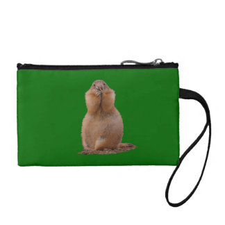 Prairie Dog with Funny Expression Coin Wallet