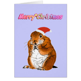 Prairie dog's Christmas Card
