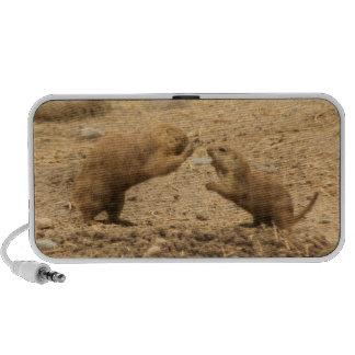 Prairie Dogs Give Me Some Skin Mini Speaker