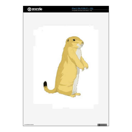 Prairie Dogs/Marmots/Ground Squirrels Skin For iPad 2