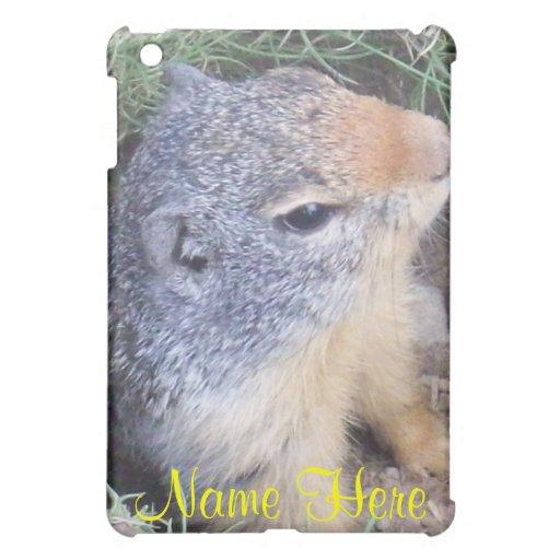Prairie Dogs Name Here  iPad Mini Cover