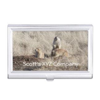 Prairie Dogs photo Business Card Holder
