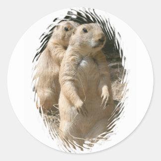 Prairie Dogs Sticker