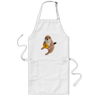 prairie dog's stuffed toy long apron
