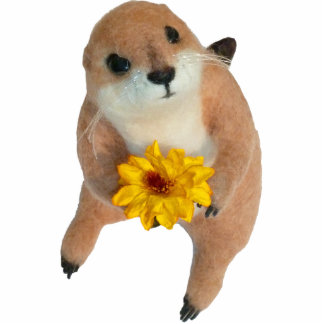 prairie dog's stuffed toy cutout