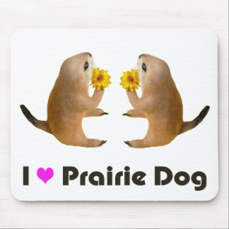 prairie dog's stuffed toy mouse pad