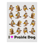 prairie dog's stuffed toy poster