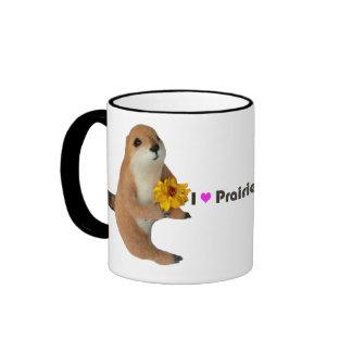 prairie dog's stuffed toy ringer mug