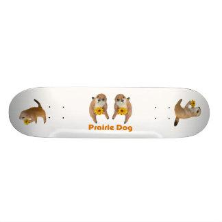 prairie dog's stuffed toy skate board decks