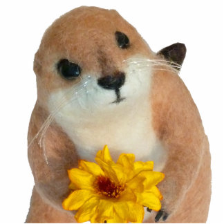 prairie dog's stuffed toy statuette