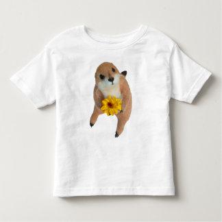 prairie dog's stuffed toy toddler t-shirt