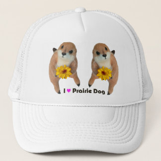 prairie dog's stuffed toy trucker hat