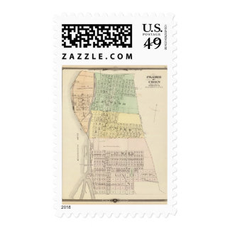 Prairie du Chien, county seat of Crawford Co Postage Stamps