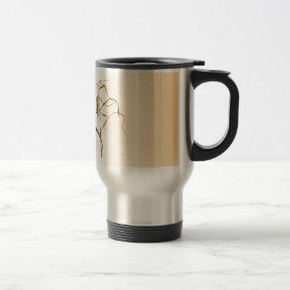 Prairie Grass Design Travel Mug