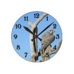 Prairie Hawk Clock