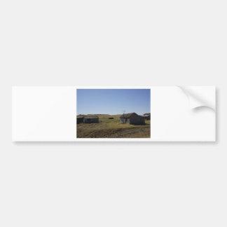 Prairie Homestead Saskatchewan Canada Bumper Sticker