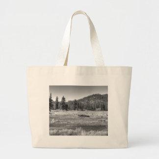 Prairie In South Lake Tahoe Canvas Bags