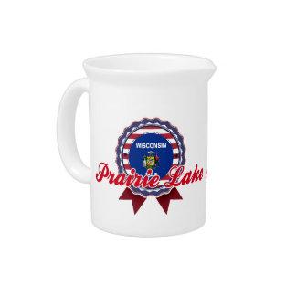 Prairie Lake, WI Beverage Pitcher