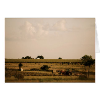 Prairie Landscape Note Card