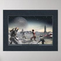 Prairie Moon poster (24x18