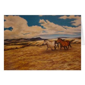 """""""Prairie Pastures"""" Blank Card Cards"""