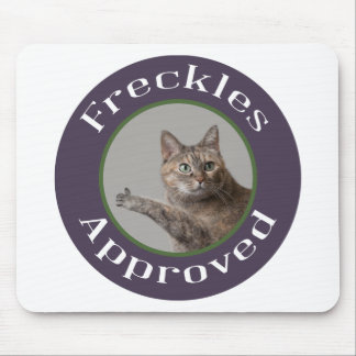 Prairie Paws Animal Shelter Freckles Approved Mouse Pad