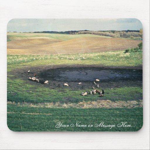 Prairie Pothole in South Dakota Mouse Pad