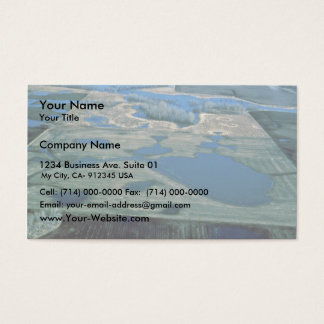 Prairie Pothole Wetland Business Card