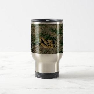 Prairie rattlesnake 15 oz stainless steel travel mug