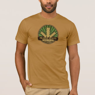 Prairie Roots Color Center Logo T-shirt