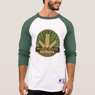 Prairie Roots Color Center Logo T-shirt