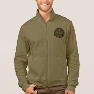 Prairie Roots Color Logo Zip Up Fleece Jacket