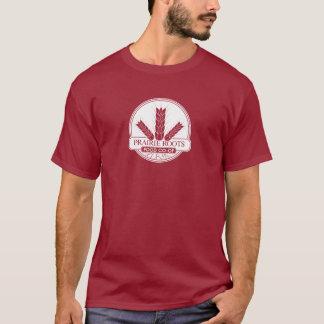 Prairie Roots White Center Logo Long SleeveT-Shirt T-Shirt