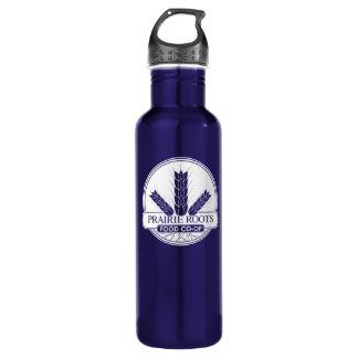 Prairie Roots (White Logo) 24oz Water Bottle