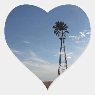 Prairie Sentinel Heart Sticker