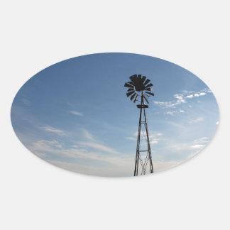 Prairie Sentinel Oval Sticker
